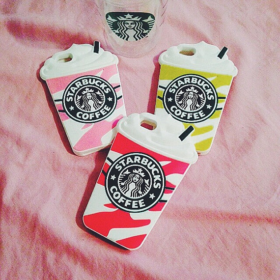 half off f6f43 c76d3 Starbucks Silicone Coffee Cup Case for Iphone 5/5s/5c