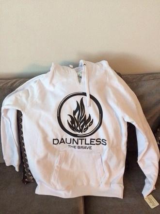 sweater divergent white dauntless