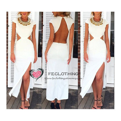Sexy halter cut out maxi dress · fe clothing · online store powered by storenvy