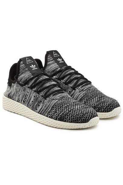 Adidas Originals Tennis HU x Pharrell Williams Primeknit Sneakers  in white