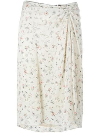 skirt women spandex nude silk