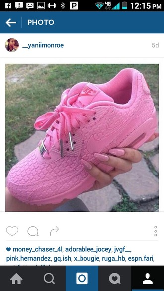 shoes nike haraches pink pink nike airmax