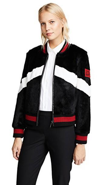 Jocelyn jacket baseball jacket baseball white black