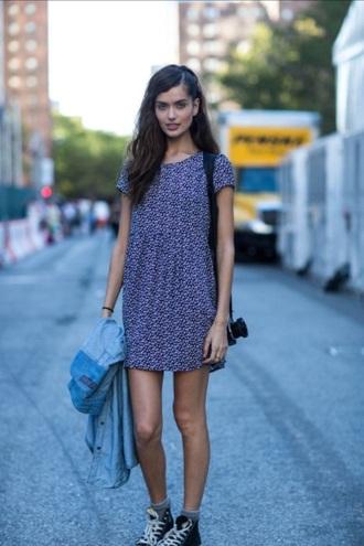 dress converse babydoll dress streetstyle style