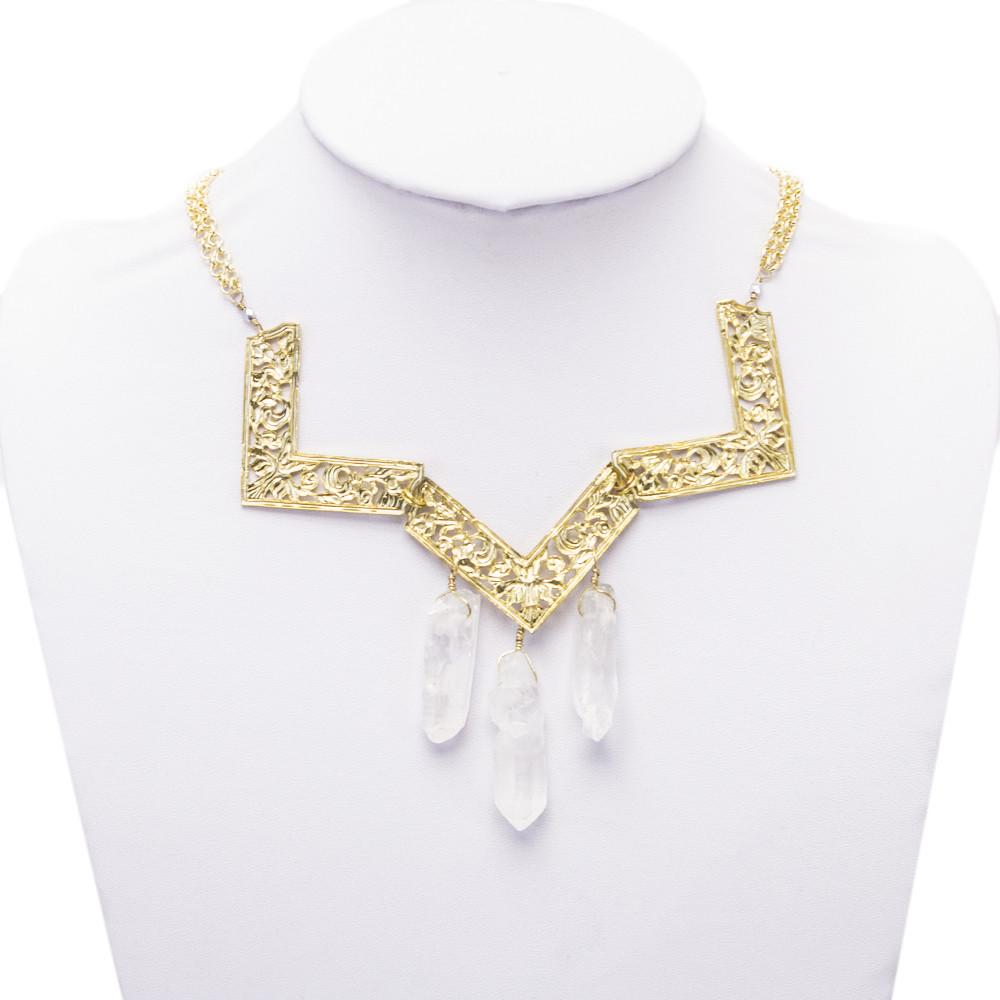 Crystal Warrior Necklace