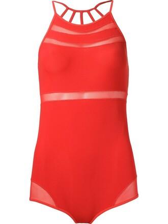 body women spandex red underwear