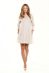 dress,sylwia majdan,clothes,designer,woolen,beige,swimwear,white one piece