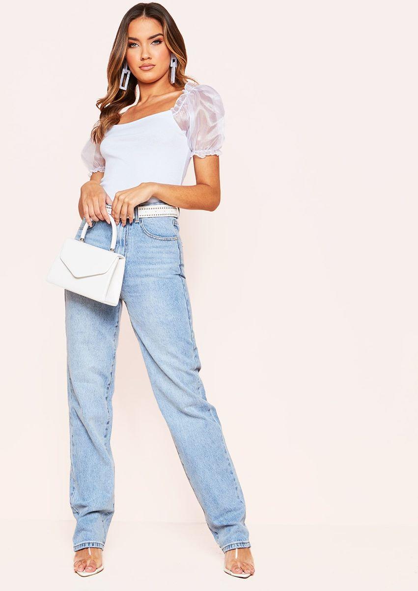 Ivy Denim Straight Leg Jeans