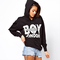 Women's printing clothing hoodies coat