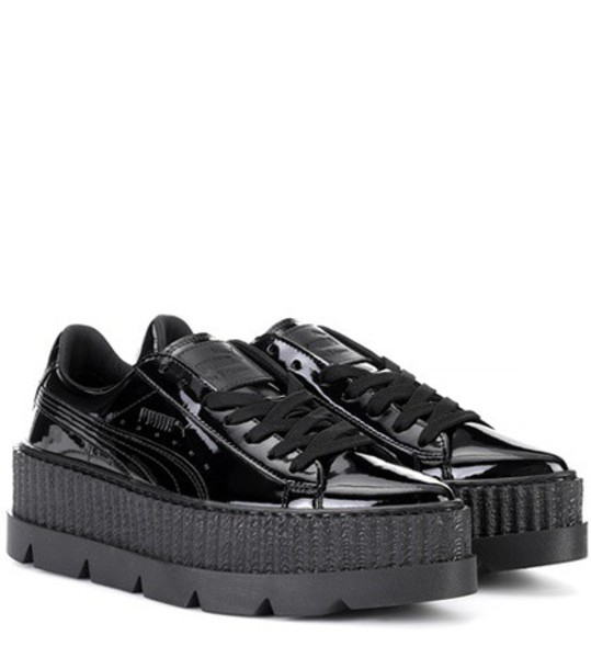 FENTY by Rihanna sneakers leather black shoes