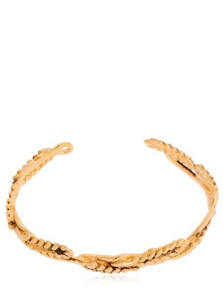 AURELIE BIDERMANN Wheat Bracelet in gold