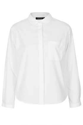 Longsleeve White Shirt - '90s Antwerp  - Clothing  - Topshop