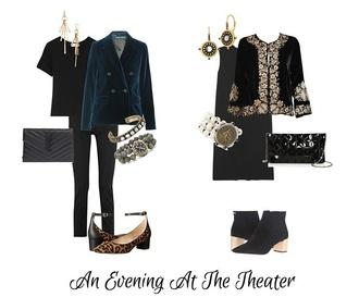unefemme blogger jewels jacket t-shirt bag jeans shoes dress blazer ankle boots mid heel pumps clutch evening outfits