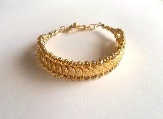 jewels charm bracelet bracelets coin bracelet valentine's day gift birthday