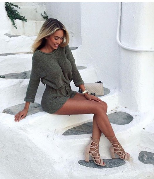 Romper one piece long sleeves long sleeve romper outfit outfit idea summer outfits cute ...
