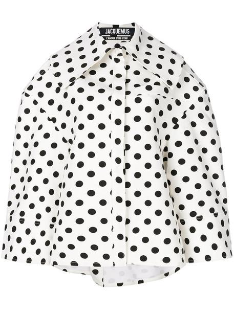 Jacquemus jacket oversized women white