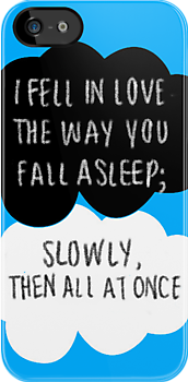 Fell in love the way you fall asleep