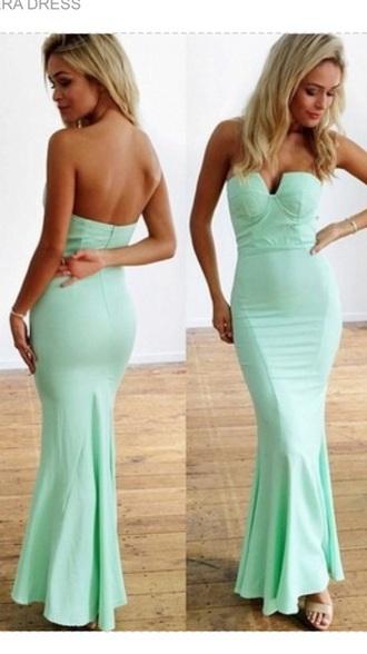 mint dress sexy dress long prom dress long dress long evening dress mint green prom dress lace