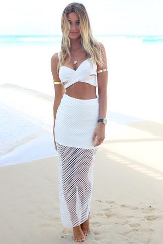 skirt ustrendy skirt maxi skirt ustrendy maxi ustrendy maxi skirt white mesh skirt mesh blouse