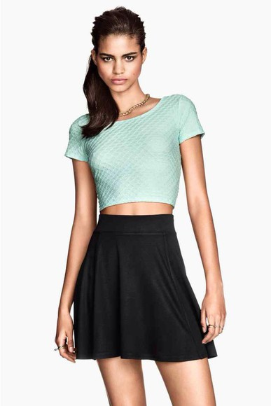 mint mint green top cropped top menthe vert d'eau pink, elegant , fashionable #girly #trendy,