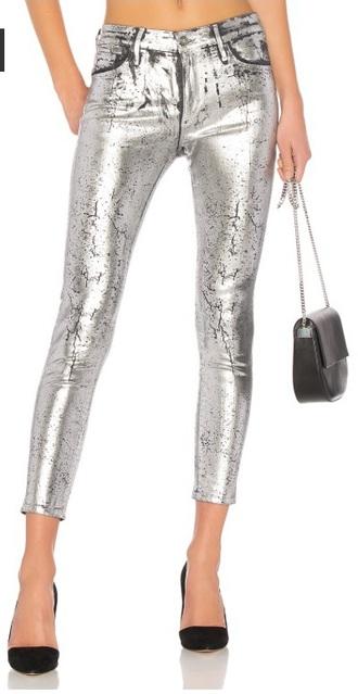 jeans silver skinny