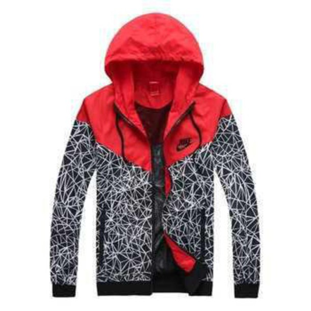 jacket red nike freshtops nike jacket