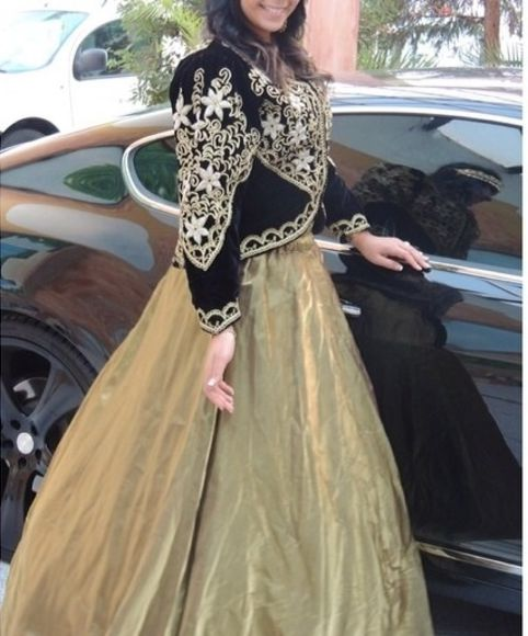 maxi dress arabic style dress arabic skirt gold sequin dress wedding dress jacket