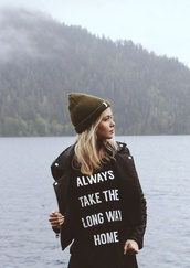 t-shirt,hat,travel,camping,beanie,quote on it,weekend escape