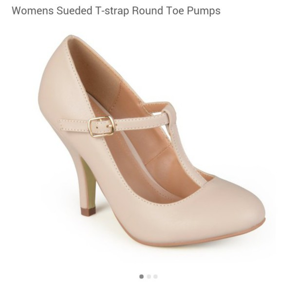 Shoes: heels short heel pump heels nude pumps cute high heels