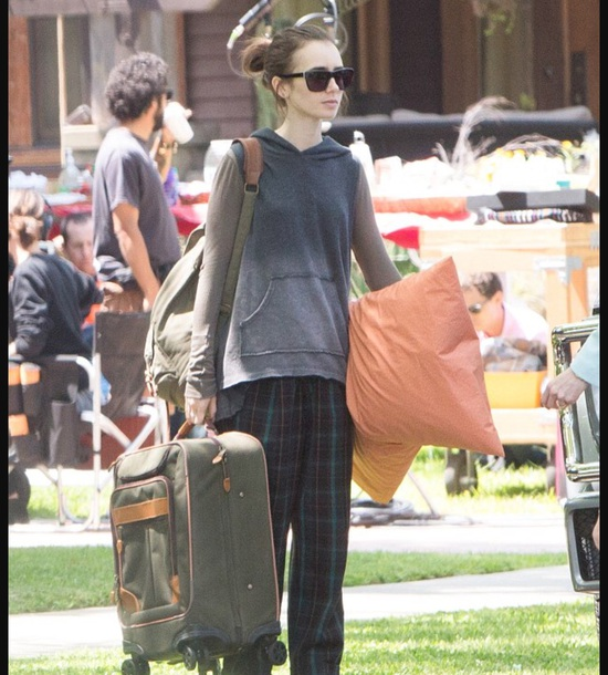 sunglasses lily collins to the bone