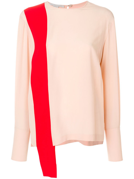 Stella McCartney blouse women silk purple pink top