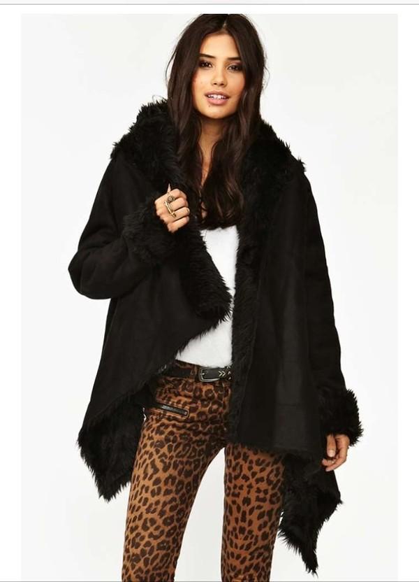 coat chelsea shearling chelsea