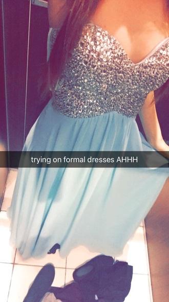 dress formal mint jewels