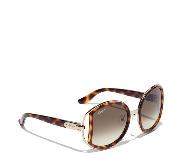 Women's Sunglasses in metal and plastic