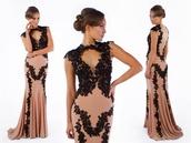 dress,black,lace dress,lace,long evening dress,evening dress,long prom dress,wedding dress