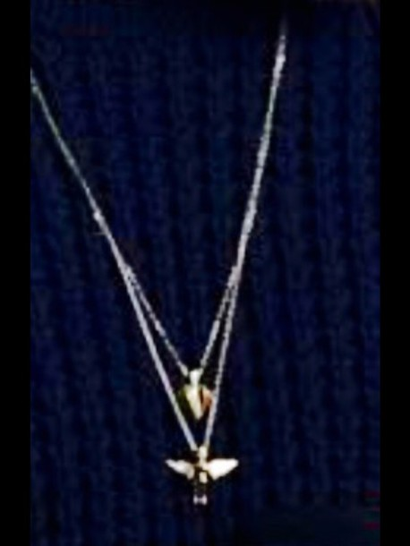 jewels necklace birds phenix fashion angel gold geometric pattern nice
