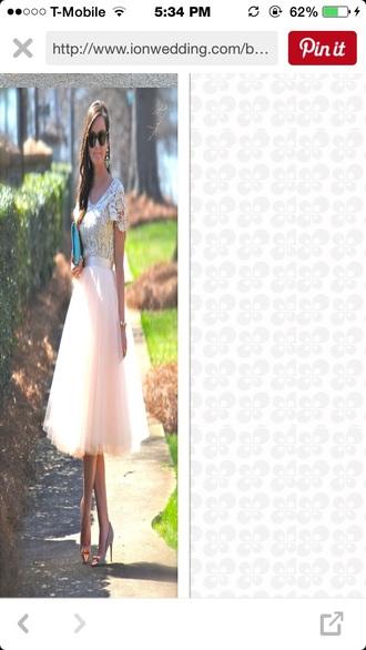skirt blush skirt tutu tutu dress
