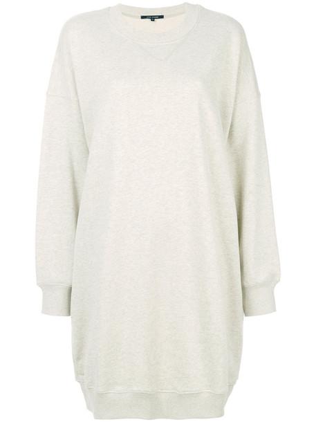 Sofie D'hoore dress sweatshirt dress women nude cotton