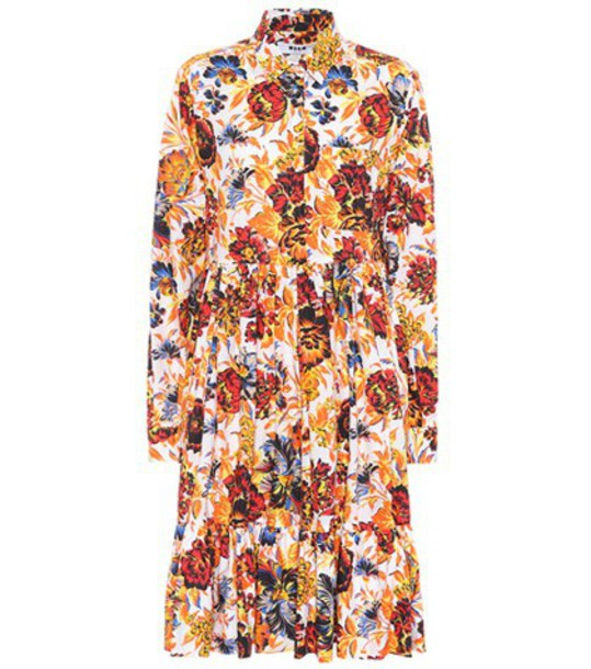 dress floral cotton