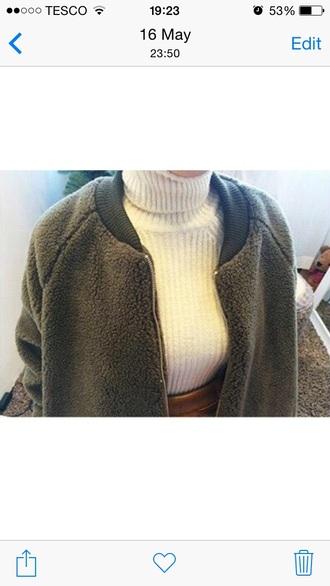 coat grey sweater grey coat wool sheepskin zip heavy warm warm winter coat winter coat jacket
