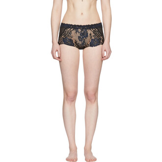 shorts rose black