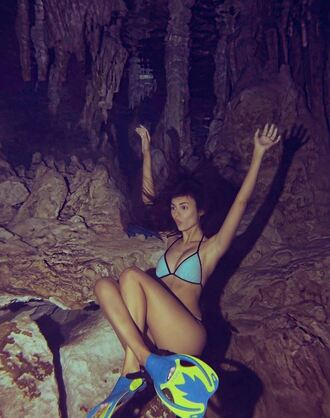 swimwear bikini bikini top bikini bottoms victoria justice summer instagram