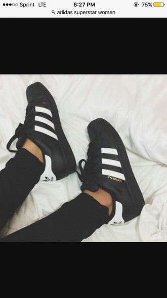 shoes adidas superstars black and white adidas adidas shoes black