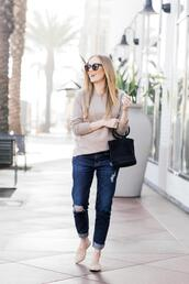 eat sleep wear,blogger,sweater,jeans,shoes,bag