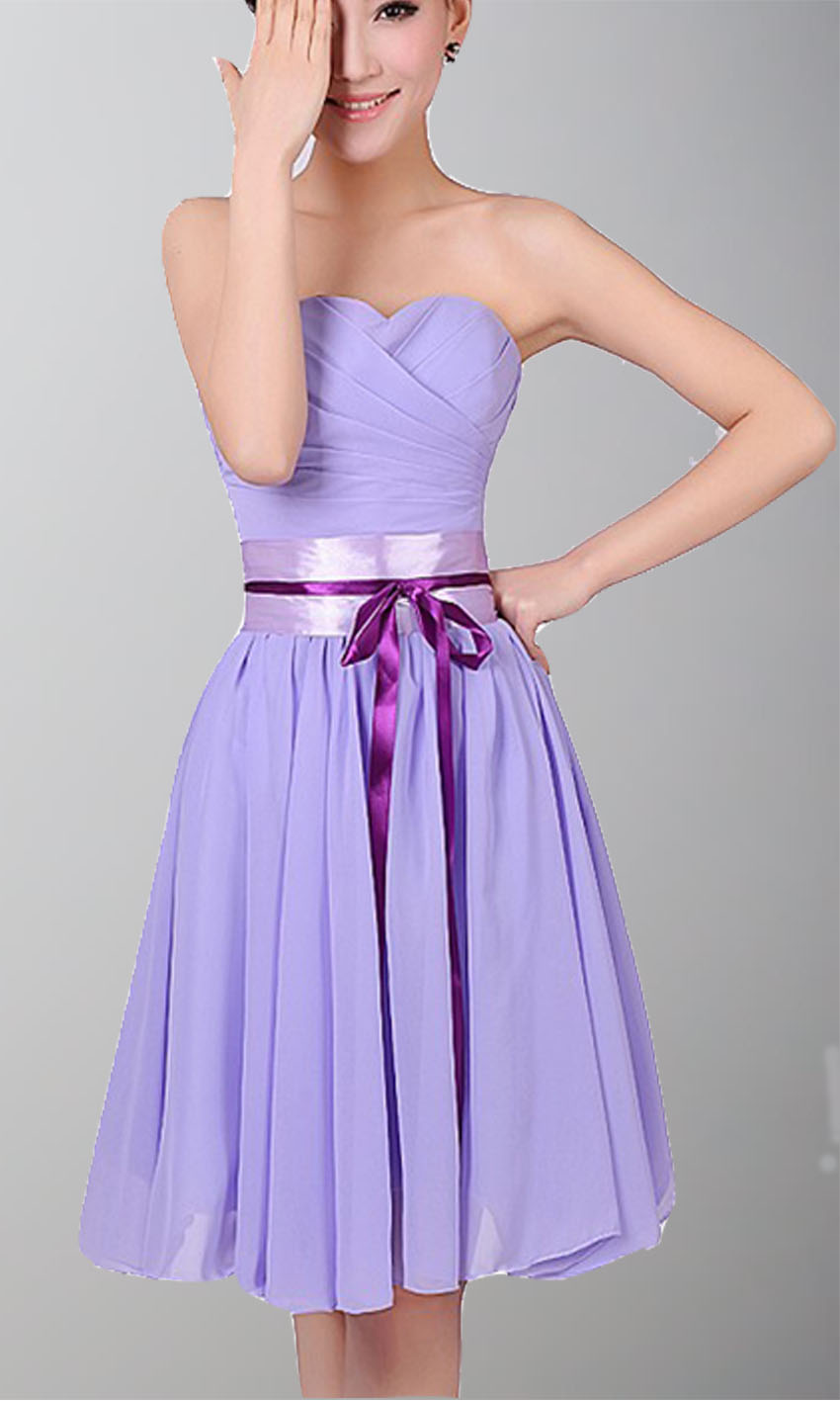 Strapless Sweetheart Short Chiffon Bridesmaid Dresses KSP140 [KSP140] - £77.00 : Cheap Prom Dresses Uk, Bridesmaid Dresses, 2014 Prom & Evening Dresses, Look for cheap elegant prom dresses 2014, cocktail gowns, or dresses for special occasions? kissprom.co.uk offers various bridesmaid dresses, evening dress, free shipping to UK etc.