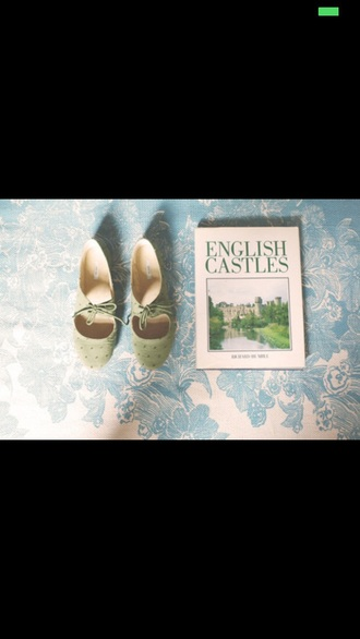 shoes vintage shoes vintage shoes for her vintage green green shoes oxfords flats