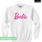 Barbie logo sweatshirt