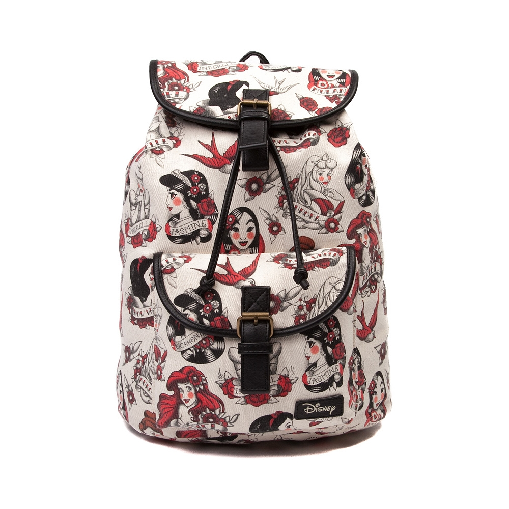 Womens Disney Tattoo Princess Fashion Backpack df12ceb69