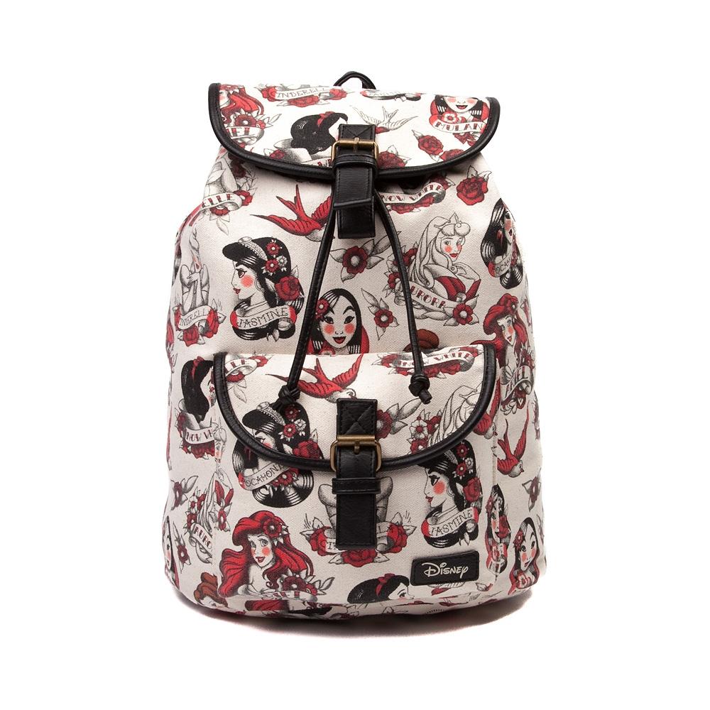 Womens Disney Tattoo Princess Fashion Backpack