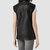 Womens Bristow Leather Gilet (Black) | ALLSAINTS.com